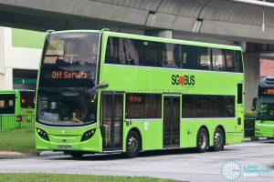 Tower Transit Alexander Dennis Enviro500 (SMB3552P)