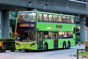 Bus 189: Tower Transit ADL Enviro500 (SMB3564E)