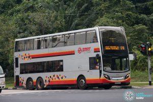 Bus 176: SMRT ADL Enviro500 (SMB3572G)
