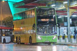 Bus 97 - Tower Transit Alexander Dennis Enviro500 (SMB3577T)