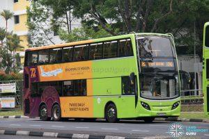 Bus 106: Tower Transit ADL Enviro500 (SMB3582C)