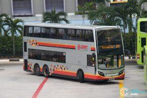 Bus 991: SMRT ADL Enviro500 (SMB3611C)