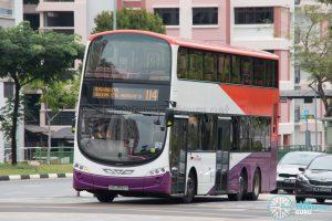 Bus 114: SBS Transit Volvo B9TL Wright (SBS3932S)