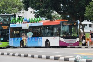Bus 21 - SBS Transit Scania K230UB Euro V (SBS5023C)
