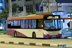 Bus 127A - SBS Transit Scania K230UB Euro V (SBS5068Z)