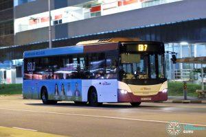 EB7 - SBS Transit Scania K230UB Euro V (SBS5088R)