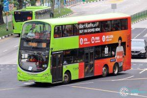 Bus 118 - Go-Ahead Singapore Volvo B9TL Wright (SG5102U)