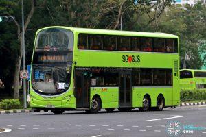 LRT Shuttle B - SMRT Buses Volvo B9TL Wright (SG5163T)
