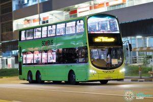 Village Hotel Bugis Shuttle - SBS Transit Volvo B9TL Wright (SG5510A)