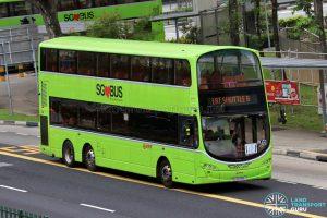 LRT Shuttle B - SMRT Buses Volvo B9TL Wright (SG5576K)