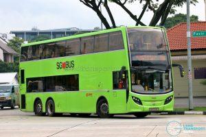 Bus 188 - SMRT Buses Alexander Dennis Enviro500 (SG5701R)