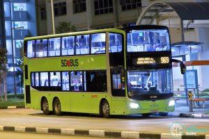 Bus 969 - SMRT Buses MAN A95 Euro 6 (SG5972A)
