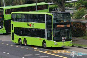 Bus 983 - SMRT Buses MAN A95 Euro 6 (SG6010U)