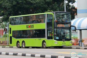 Bus 12 - Go-Ahead Singapore MAN A95 Euro 6 (SG6090M)