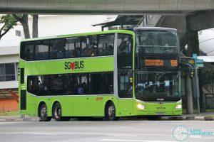 Bus 188 - SMRT Buses MAN A95 Euro 6 (SG6122E)