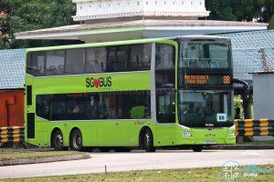 Bus 88 - SBS Transit MAN A95 Euro 6 (SG6171M)