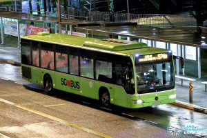 Bus 974A: Tower Transit Mercedes-Benz Citaro (SBS6343Y)
