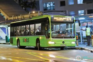 Bus 974 - Tower Transit Mercedes-Benz Citaro (SBS6372M)