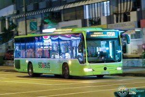 Bus 135A - SBS Transit Mercedes-Benz Citaro (SBS6573A)
