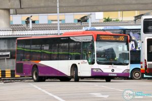 Bus 65 - SBS Transit Mercedes-Benz Citaro (SBS6639U)
