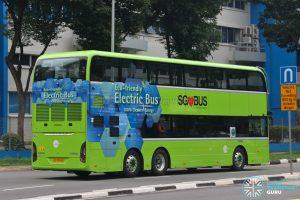 Bus 189 - Tower Transit Yutong E12DD (SG7004G) [Rear]