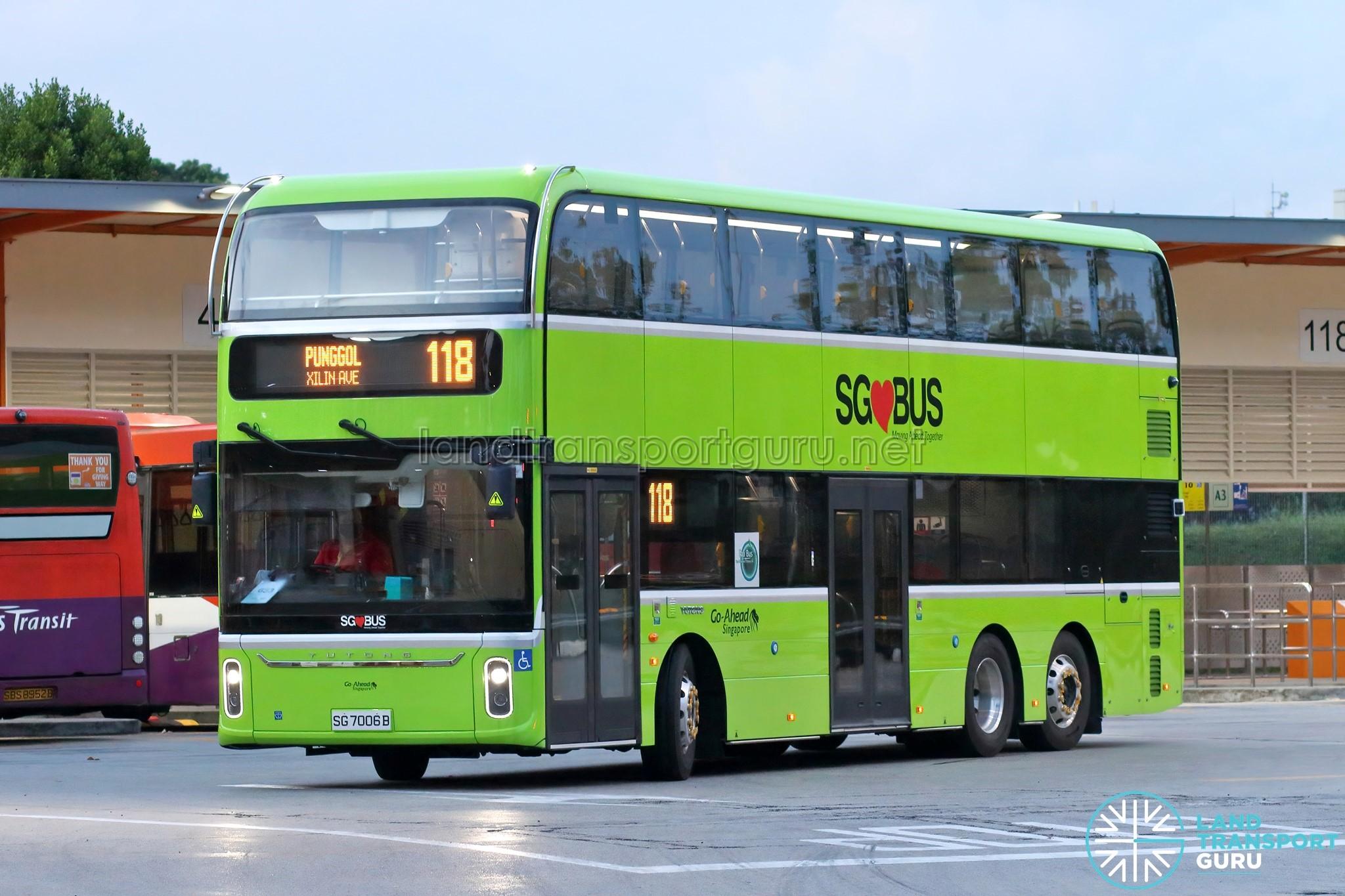 Yutong E12DD Electric Bus