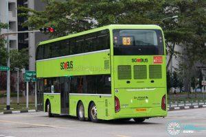 Bus 83 - Go-Ahead Singapore Yutong E12DD (SG7006B) (Rear)