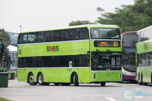 Bus 83 - Go-Ahead Singapore Yutong E12DD (SG7009T)