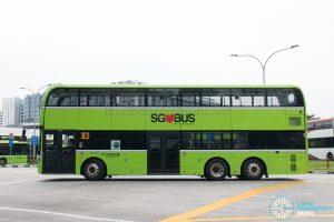 Go-Ahead Yutong E12DD - Nearside