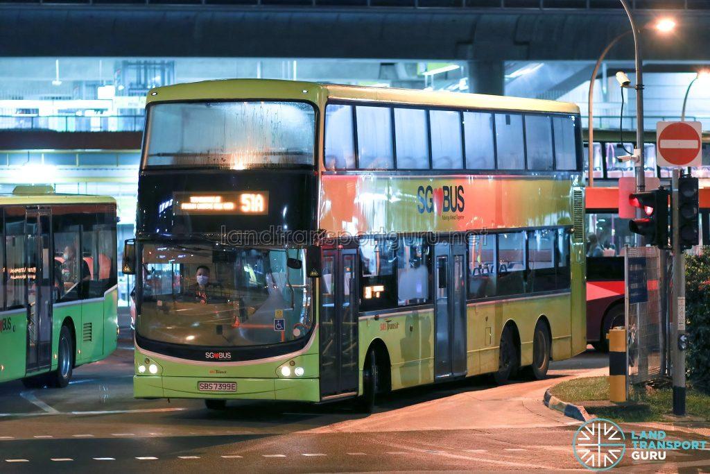 Bus 51A - SBS Transit Volvo B9TL CDGE (SBS7399E)