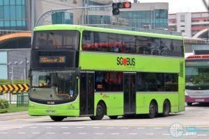 Bus 28 - SBS Transit Volvo B9TL CDGE (SBS7419G)