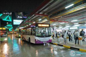 EWL Free Bridging Bus - SBS Transit Scania K230UB Euro IV (SBS8191E)