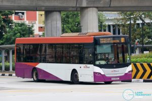 Bus 81 - SBS Transit Scania K230UB Euro V (SBS8585C)
