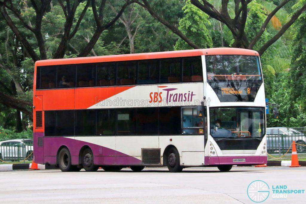 Bus 8 – SBS Transit Volvo B10TL CDGE (SBS9889U)