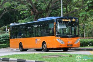 ISB DD1 - ComfortDelGro Bus Volvo B9L (PC3876P)