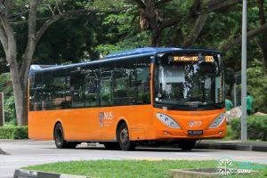 ISB DD2 - ComfortDelGro Bus Volvo B9L (PC3876P)