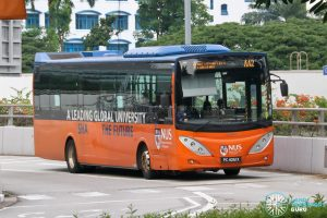 ISB AA2 - ComfortDelGro Bus Volvo B9L (PC4051X)