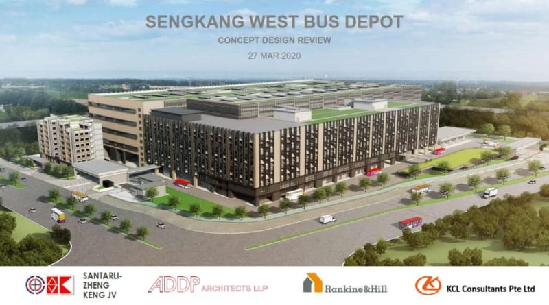 Sengkang West Bus Depot Artist Impression (Image: Gan Thiam Poh / Facebook)