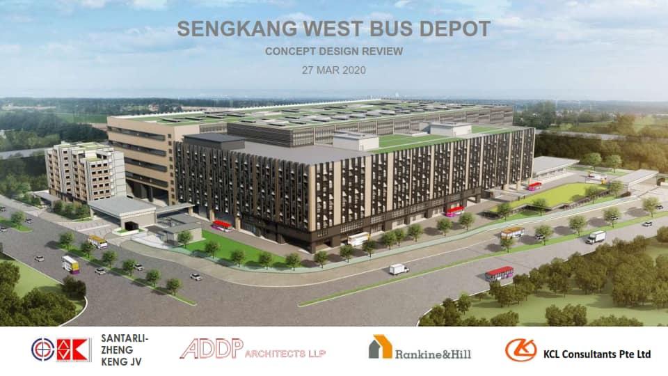 Sengkang West Bus Depot Artist Impression (Image: Gan Thiam Poh / Facebook)