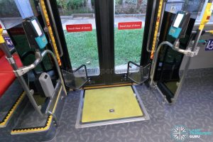 Yutong E12DD - Interior (Wheelchair Ramp)