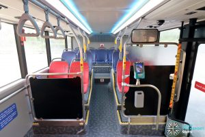 Yutong E12DD - Lower Deck (Rear Seating)
