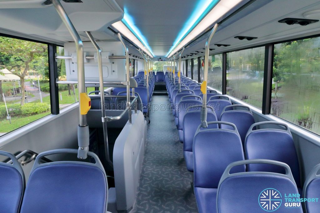 Yutong E12DD - Upper Deck (Front to Rear)