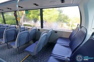Yutong E12DD - Upper Deck Rear Seating