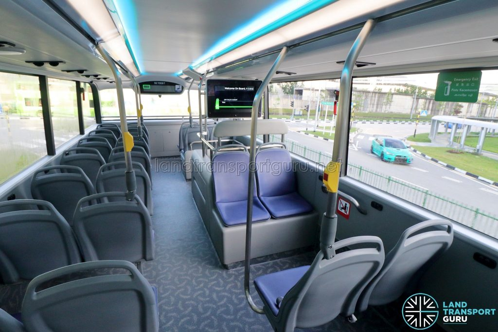 Yutong E12DD - Upper Deck Facing Seats