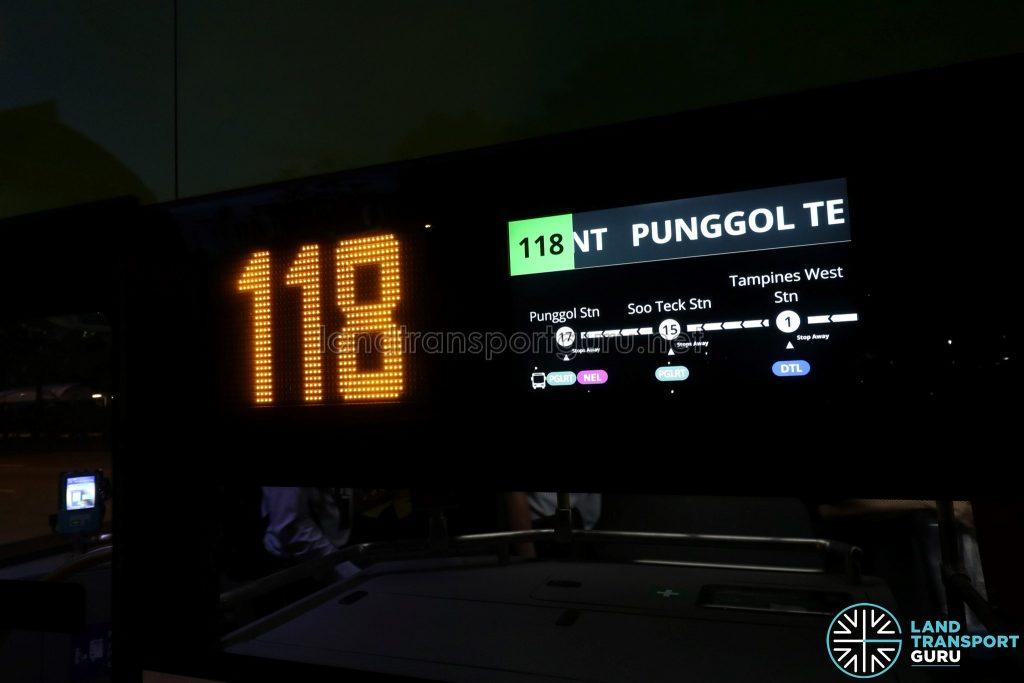Yutong E12DD - Exterior PIDS Panel