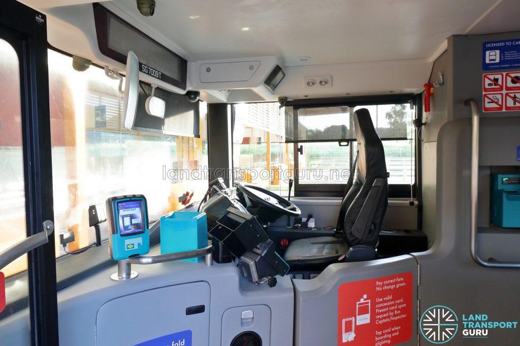 Yutong E12DD - Interior (Driver's Cab)