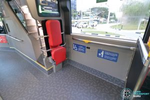 Yutong E12DD - Interior (Rear Wheelchair Bay)