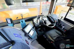 Yutong E12DD - Interior (Dashboard & Equipment)