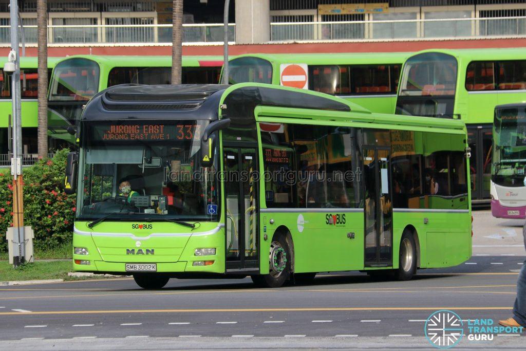 Bus 333 - Tower Transit MAN A22 (SMB3002K)