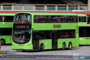 Bus 41 - Tower Transit Volvo B9TL Wright (SBS3353M)